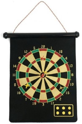 Cuddles Magnetic Roll-Up And Bullseye Game 15 inch Dart Board