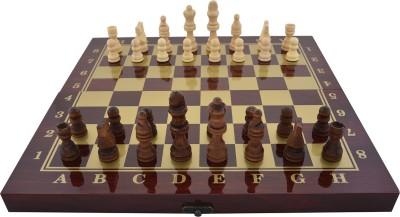 plyr shatranj exclusive polish 34.5 cm Chess Board