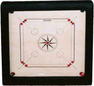 Rover Classic Full 33 inch Carrom Board White  available at Flipkart for Rs.1999