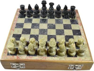 Craftuno Handcrafted Soapstone 1.75 inch Chess Board