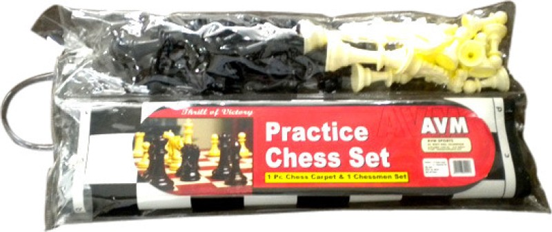 AVM Practice Chess Set