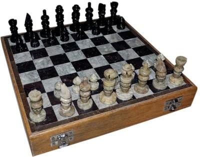 Radhey Marble 20 Cm Shatranj Play To Play 8 inch Chess Board