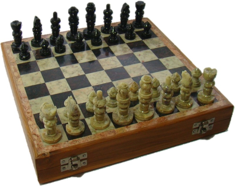 Craftsmen Handmade 6 cm Chess Board(White)