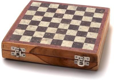 Radhey Marble Shatranj 12 inch Chess Board