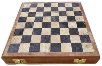 Radhey Marble 26 Cm Shatranj To Play Anywhere 10 inch Chess Board