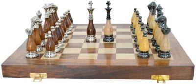 Chessncrafts AI-CNC-BR-2 7.5 cm Chess Board