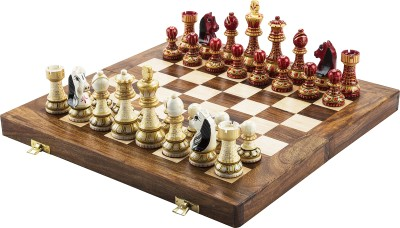 Chessncrafts AI-CNC-MJ-1 7.5 cm Chess Board