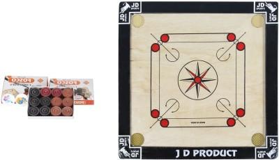 JD Sports jd product small 1.5 inch Carrom Board