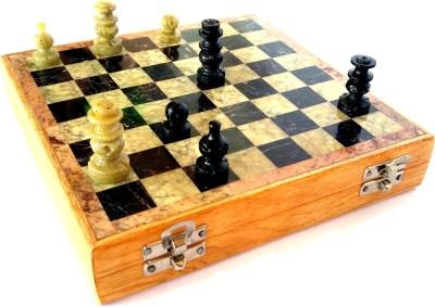 Govindam Marble cum Wooden 10 inch Chess Board