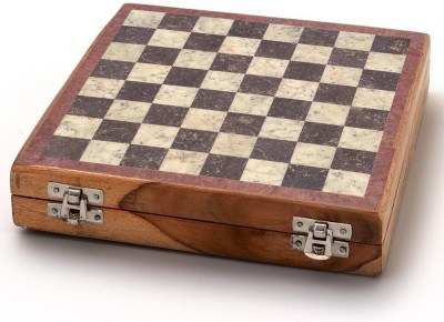 Kaushal Creation Marble 10 inch Chess Board