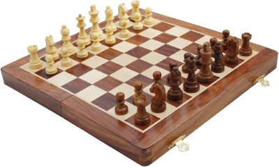 Craft Store India Folding Wooden Set Z1 12 inch Chess Board