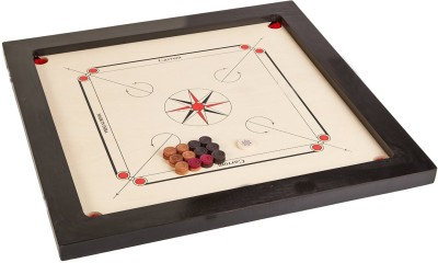 Crown Primium 32 inch Carrom Board Multicolor  available at Flipkart for Rs.1980