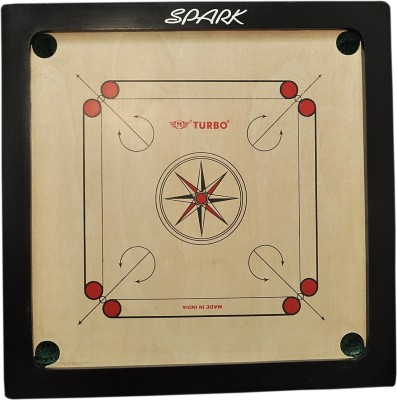 TURBO GLOSSY 33 inch Carrom Board available at Flipkart for Rs.1250