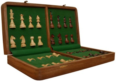 Chessbazaar Magnetic 16 X 16 Fitted Chess Board