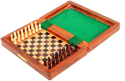 Stonkraft Portable Travel Friendly 1.5 inch Chess Board