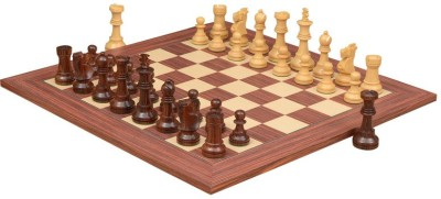 Chessbazaar Reproduced Antique Series Set & Maple Finish 4.5 inch Chess Board