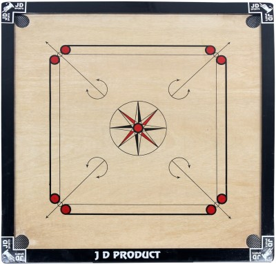 JD Sports 32 inch 1.5 inch Carrom Board available at Flipkart for Rs.1700