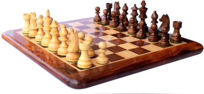 StonKraft Collectible Wooden Chess Set Board Game
