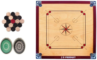 JD Sports jdfullcarrom 1.5 inch Carrom Board available at Flipkart for Rs.1599
