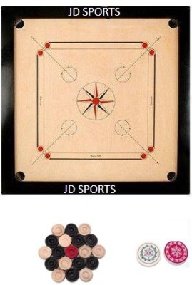 JD Sports 111 1.5 inch Carrom Board available at Flipkart for Rs.1116