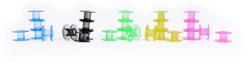 Vardhman colored bobin Plastic Bobbins(Pack of 25, class 15)
