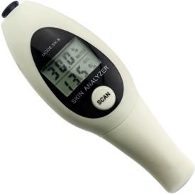 Shrih Digital LCD Display Skin Facial Moisture Oil Tester Body Fat Analyzer(Shrih)