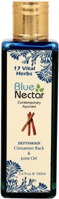 Blue Nectar Devtvakadi Cinnamon Ayurvedic Herbal Body Pain Back & Joint Oil Liquid
