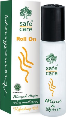 Safecare Minyak Angin Aromatherapy Refreshing oil Roll On