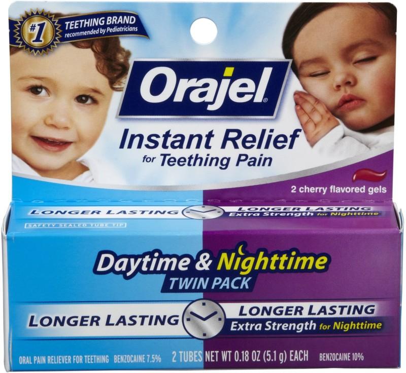 Orajel Instant Relief for Teething Pain Gel(5.1 g)