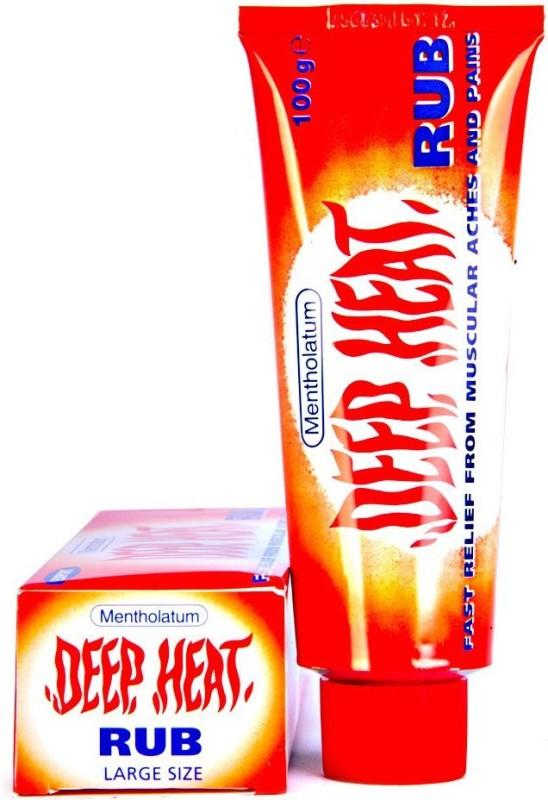 Deep Heat Mentholatum Rub Gel(100 g)