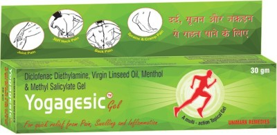 Yogagesic pain reliever Gel