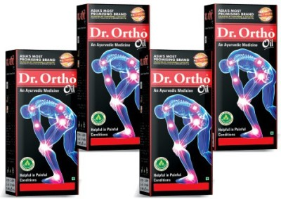 Dr Ortho Ayurvedic Joint Pain Oil (Pack of 4) 120ml Oil
