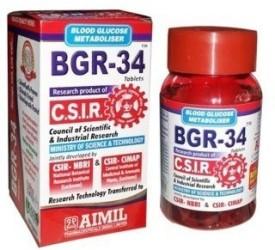 Aimil BGR - 34 Tablets(340 g)