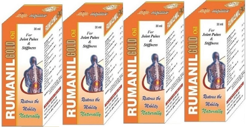 Dharmani Health and Fitness Co. RUMANIL GOLD Joint Pain Oil(120 ml)