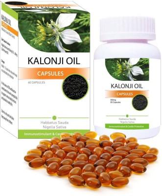 Shivalik Herbals Kalonji Oil Nigella sativa seeds Multivitamin Special for Immune System, Skin, Respiratory System, Hormones, Asthma.