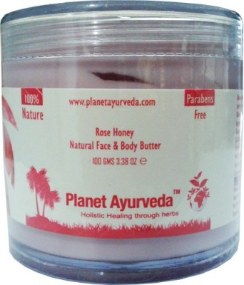 Planet Ayurveda Rose Honey, Natural Face & Body Butter