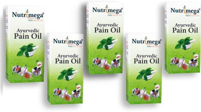Nutrimega Ayurvedic pain relief oil (45ml x 5)
