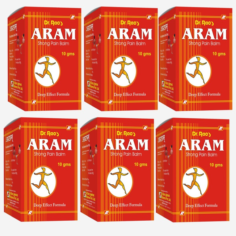Dr.Rao's ARAM(Pain-Relief Balm)(60 g)
