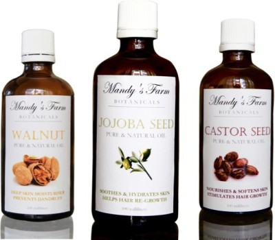 Mandy's Farm Golden Years Massage Pack - 3 Pure & Natural Oils For Seniors