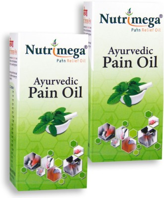 Nutrimega Ayurvedic pain relief oil (45ml x 2)