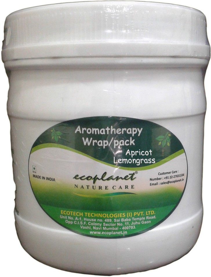 Ecoplanet Aromatherapy Body Wrap Apricot Lemongrass(1000 g)