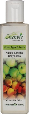 Greenviv Natural Green Apple & Peach Body Lotion