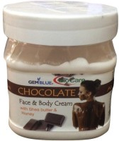 Gemblue Biocare Chocolate Face and Body Cream with Shea butter and Honey