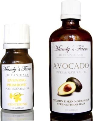 Mandy's Farm Primadonna Massage Pack - 2 Pure & Natural Oils For Mature Women
