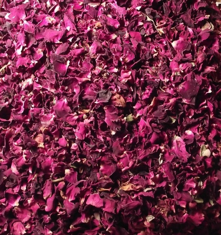 Ayurveda Essentials 100% Natural Color Shade Dried Rose Petals(100 g)