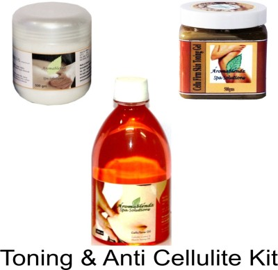 Aromablendz Toning & Anti Cellulite Kit - CLOVE