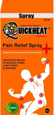 QuickHeat Warmers Pain Relief Spray(50 ml)