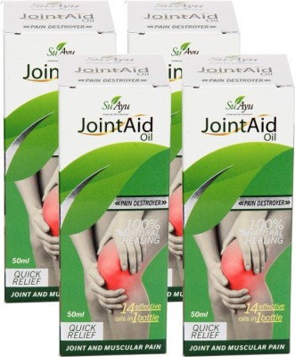 SuAyu Jointaid Oil - Quick Relief From Joint Pain & Muscular Pain(50 ml)