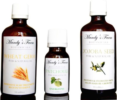 Mandy's Farm INTENSIVE SKIN REPAIR PACK FOR MEN - OILS OF PATCHOULI, WHEATGERM & JOJOBA