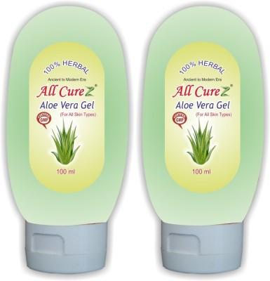 All Curez Aloe Vera Skin Gel (Set of 2)